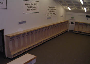 CSU Locker Room
